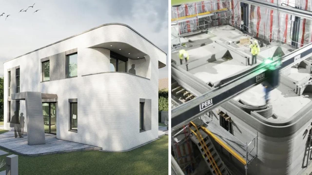 İBB, üç boyutlu yazıcıyla 155 metrekarelik bina inşa etti