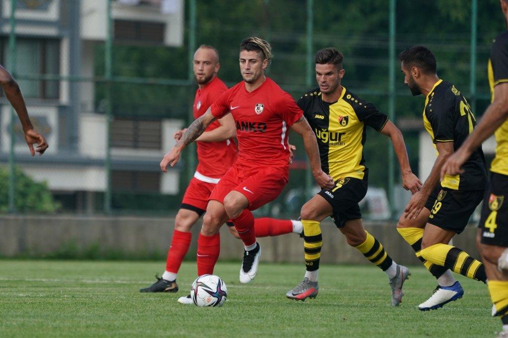 Hazırlık Maçı: Gaziantep Fk: 3 - İstanbulspor: 2