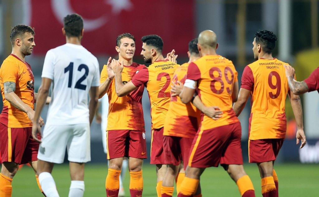Hazırlık Maçı: Galatasaray: 4 - Kasımpaşa: 2