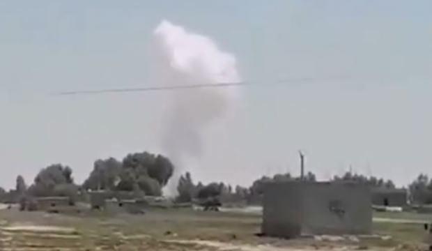 Suriye'deki ABD üssüne füzeli saldırı