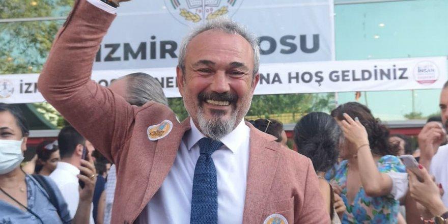 İzmir Barosu'nun yeni başkanı belli oldu