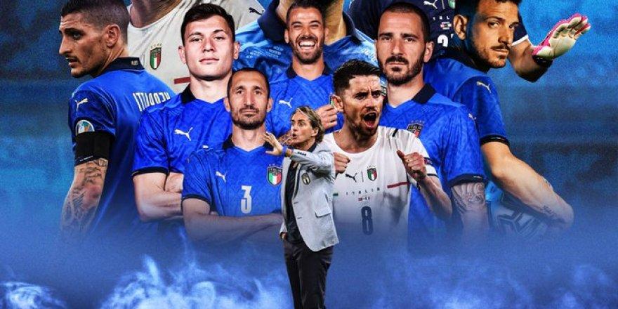 İtalya Avrupa Şampiyonu! İngilizler evinde yıkıldı