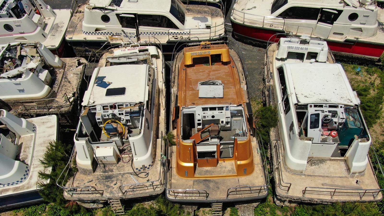 İstanbul'un Deniz Taksi Mezarlığı