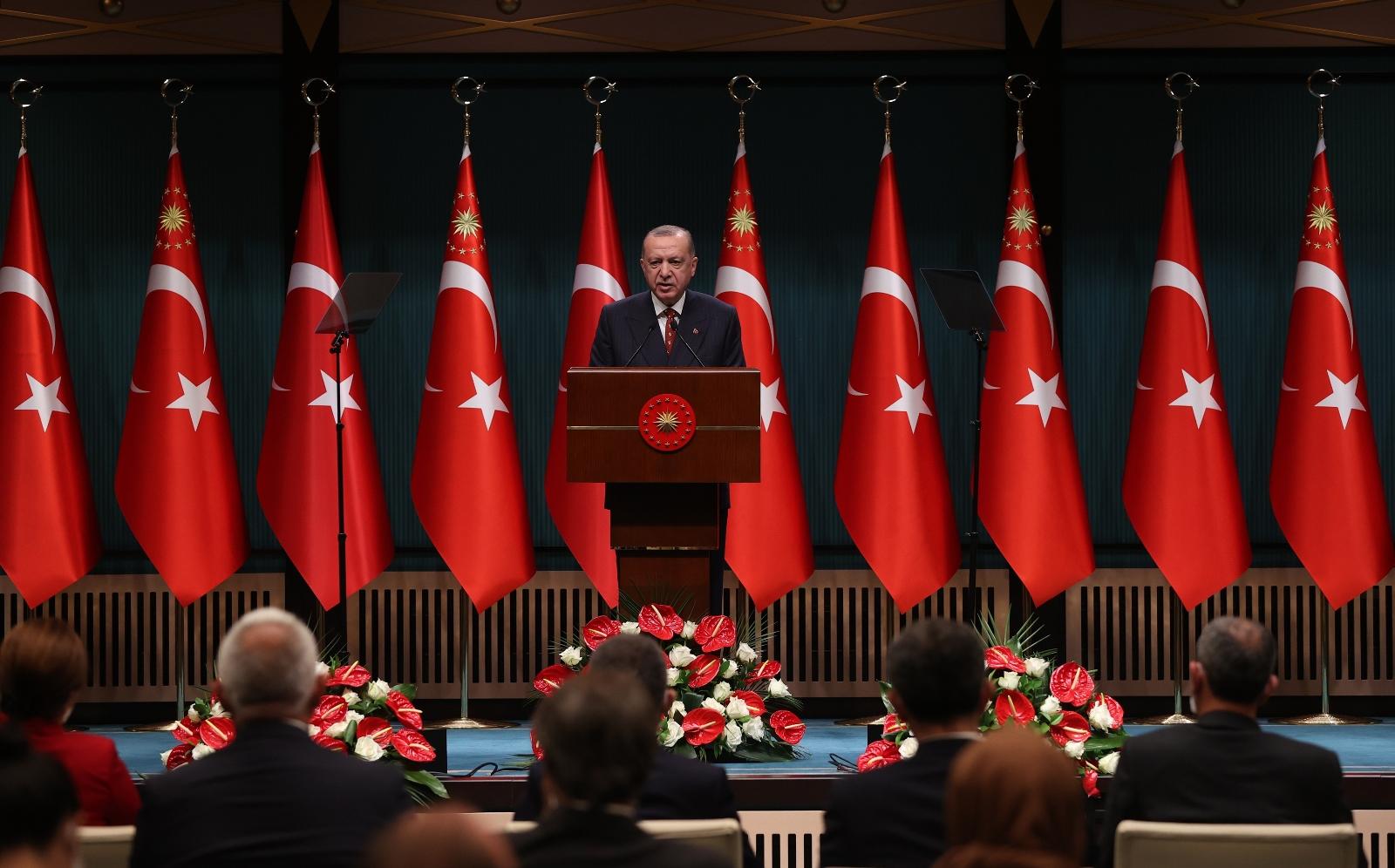"""Erdoğan: """"Böyle Bir Ahlaksızlığı, Böyle Bir Edepsizliği Bizim Kabullenmemiz Mümkün Değildir"""""""