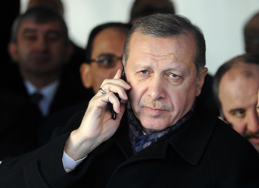 Cumhurbaşkanı Erdoğan, İsrail Devlet Başkanı Heetzog İle Görüştü