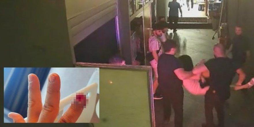 3 Kadın güvenlikçiyi ısırıp kopardı!