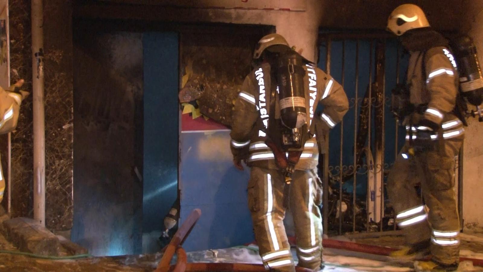 Esenyurt'ta İş Yeri Yangını
