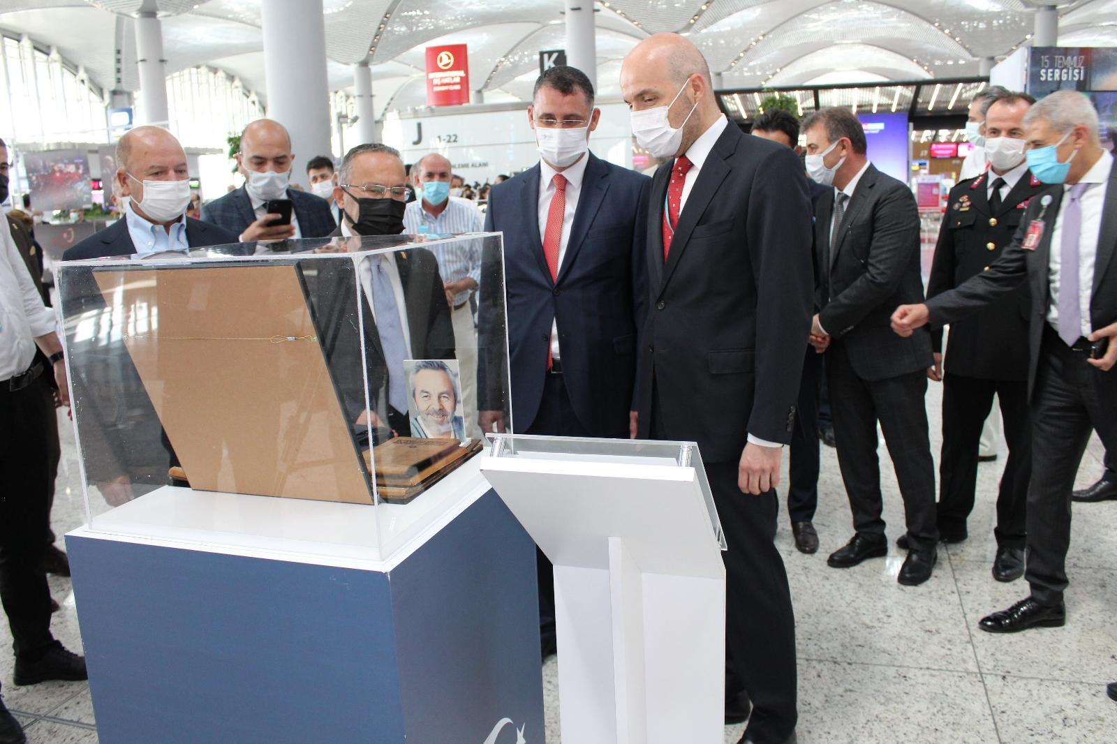 İstanbul Havalimanı'nda 15 Temmuz Demokrasi Ve Milli Birlik Günü Sergisi