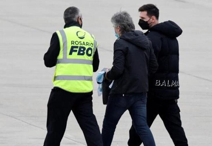 Lionel Messi'nin uçağında bomba paniği!