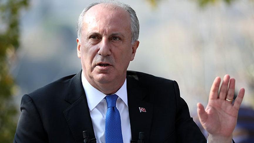 """Muharrem İnce : """"İKTİDARI DA MUHALEFETİ DE GÖNDERECEĞİZ"""""""