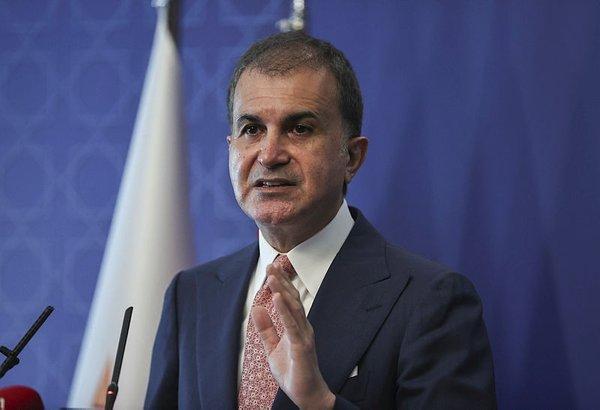 AK Parti Sözcüsü Ömer Çelik: Kendi milletine silah çekenlerden daha alçak kimse yoktur
