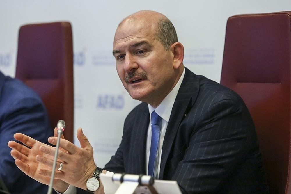 İçişleri Bakanı Süleyman Soylu'dan Operasyon Açıklaması