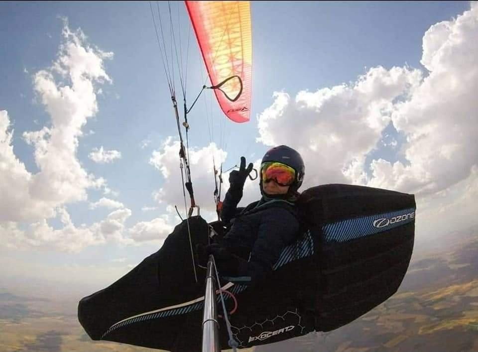 Rüzgar Havacılık Eğitmeni Arslan'tan Türkiye Kadınlar Rekoru