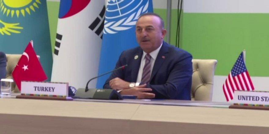 """Çavuşoğlu: """"Türkiye, 15 Yılda 100 Milyar Dolara Yakın 100 Projeyi Tamamladı"""""""