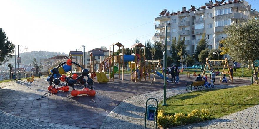 Kuşadası Gençlik Spor Kulübü Parkı'nın Yapımına Başlandı