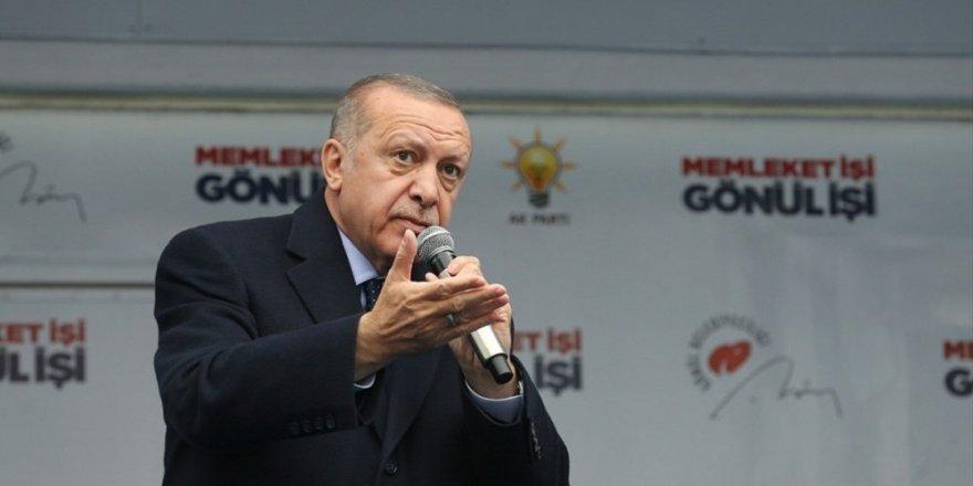 Erdoğan'dan Trump'a Golan Tepeleri tepkisi: İşgalin meşrulaştırılmasına asla izin vermeyiz, veremeyiz