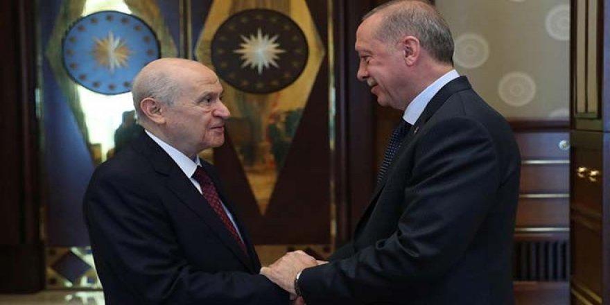 Devlet Bahçeli: Erdoğan'la şu an kanka halindeyiz