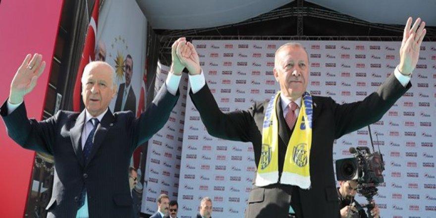 Ankara'da Cumhur İttifakı mitingi: 31 Mart Uçurumdan önce son çıkış!