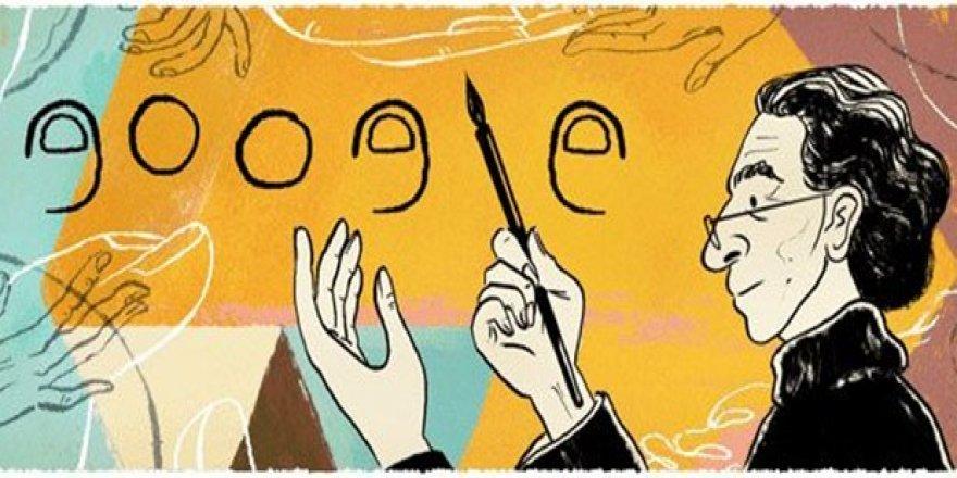 Google'dan Abidin Dino'nun 106. yaşına özel 'doodle'
