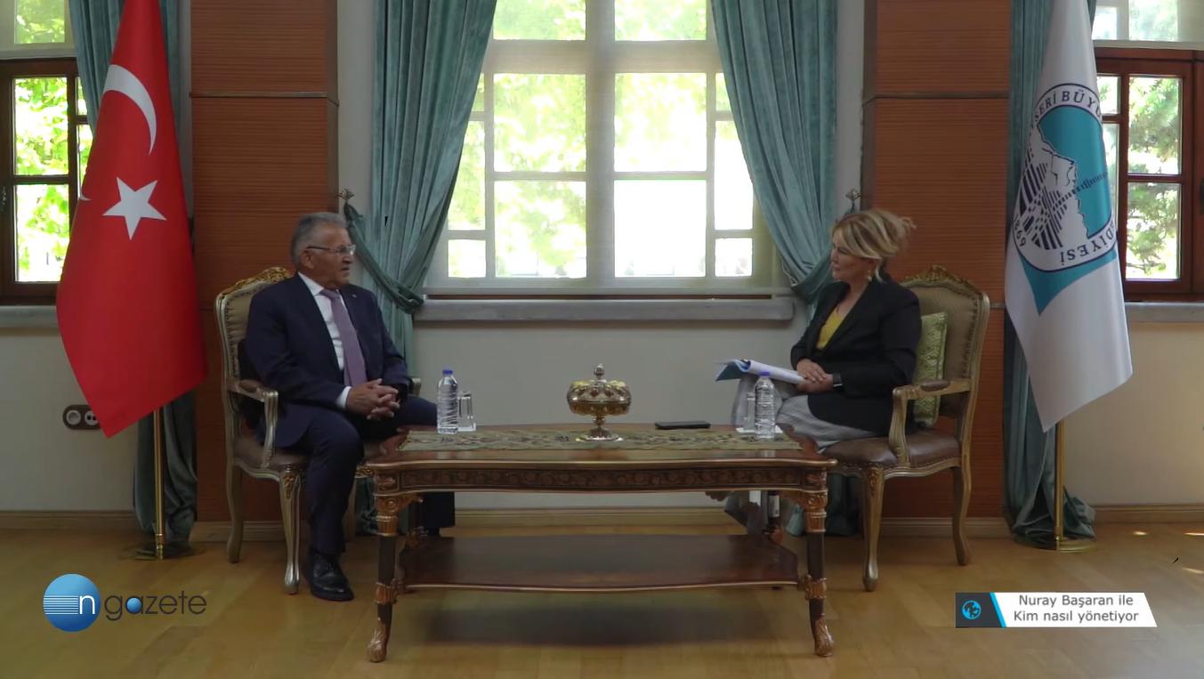 Kayseri Büyükşehir Belediye Başkanı Büyükkılıç: Erdoğan'ın kaygısı Erbakan ile aynı