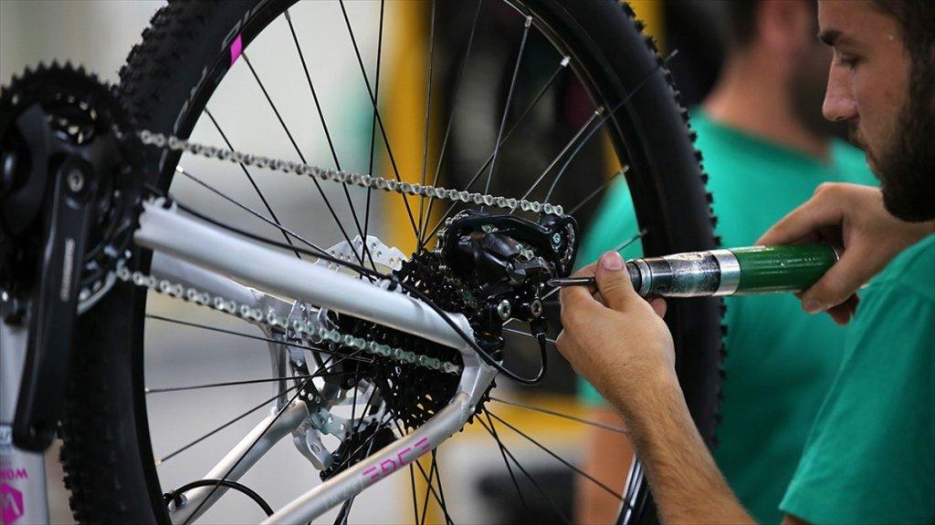 Türk Bisiklet Endüstrisi Kapasitesinin Üzerinde Üretim Ve İstihdam Sağlıyor