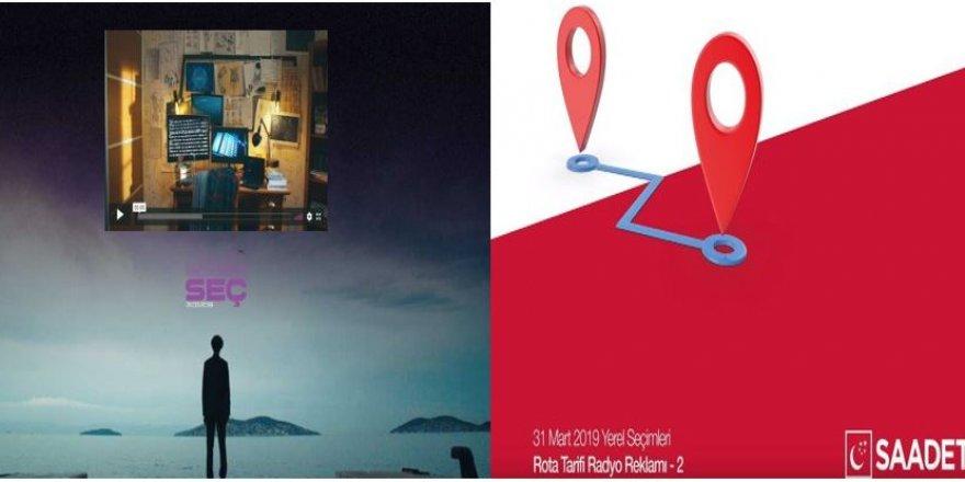 Ak Parti ve Saadet Partisi'nden teknolojik reklam kampanyası