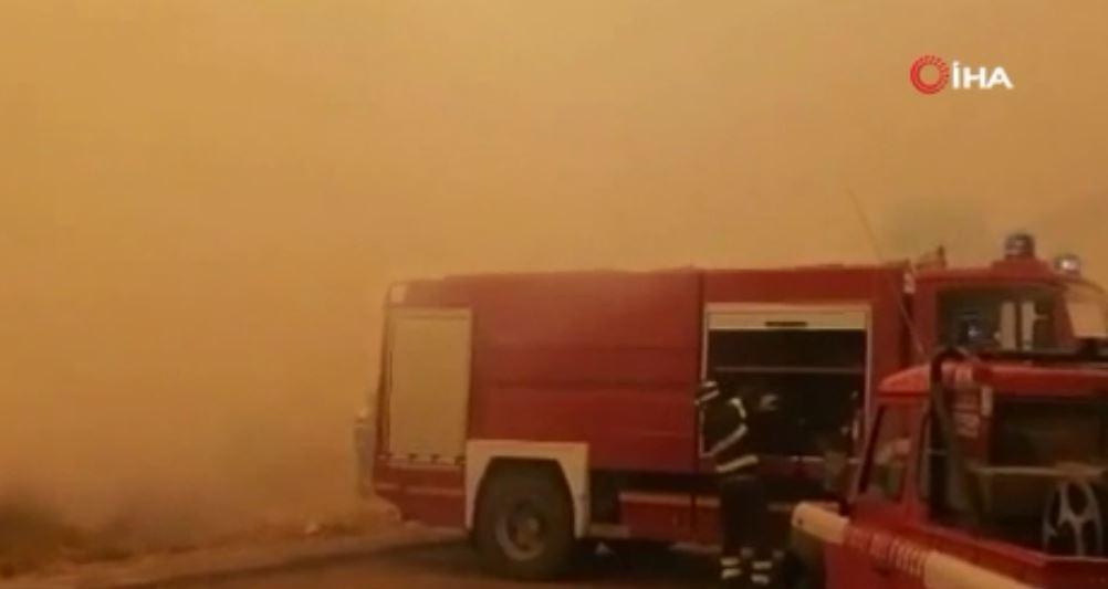 Sardunya Adası'nda Büyük Yangın