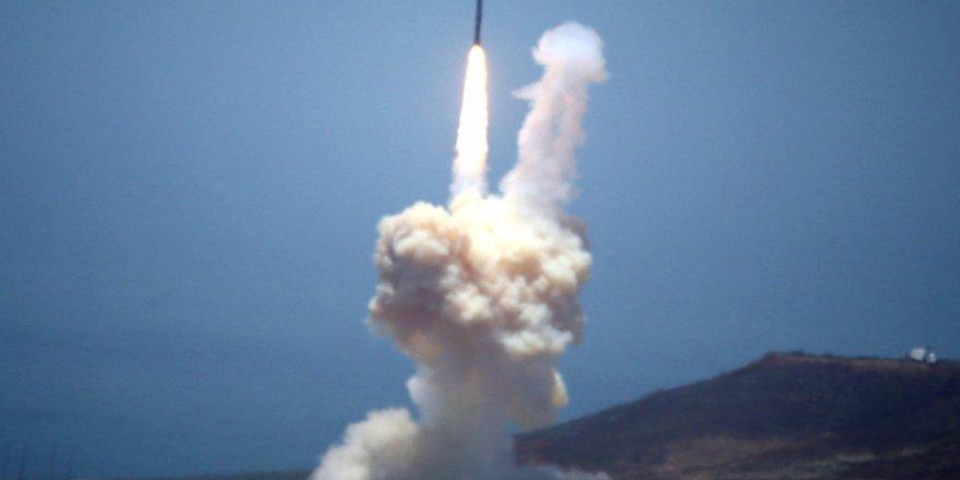 ABD füze savunma sisteminde bir ilki gerçekleştirdi