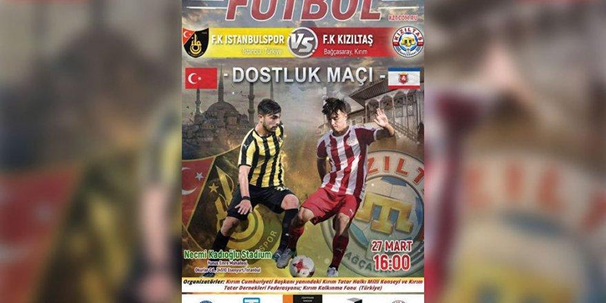 'Türk-Kırım futbol karşılaması, Dışişleri Bakanlığı'nın talimatıyla engellendi'
