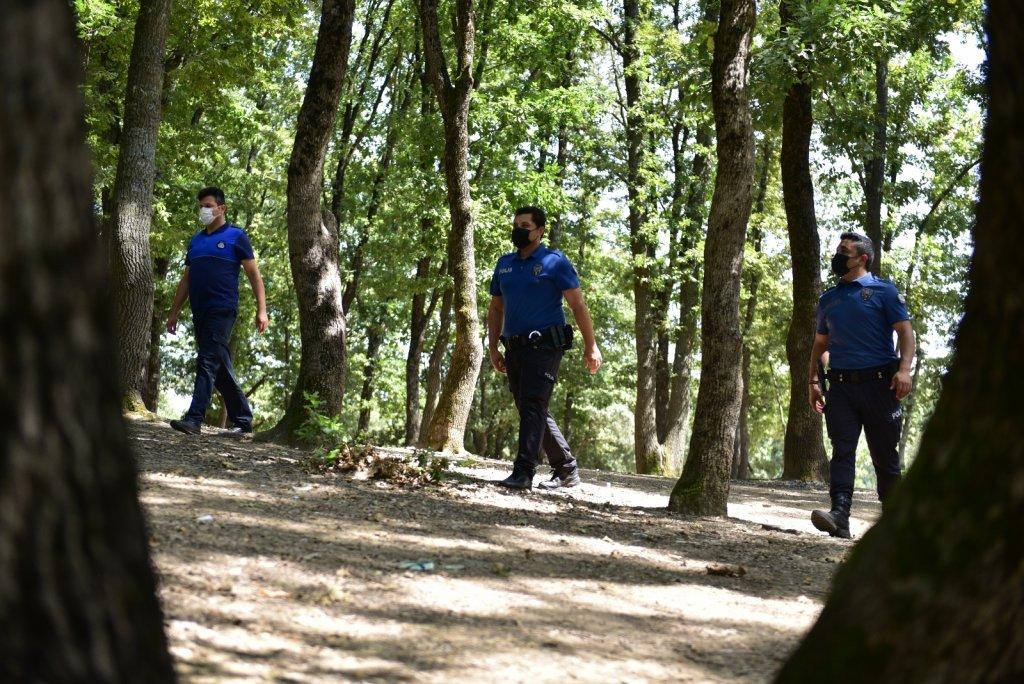 Tuzla'da Ormanlık Alanlar Gözetim Altında