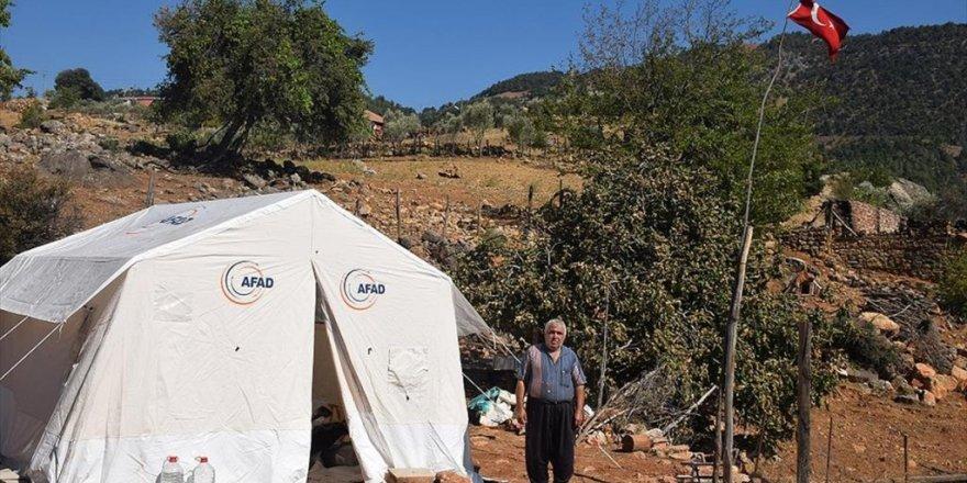 Adana'daki Orman Yangınında Evleri Ve Kızlarının Çeyizi Zarar Gören Aile Üzüntü Yaşıyor