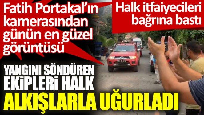 Fatih Portakal, Turgutköy'deki sevinci paylaştı: Yüzümüz gülüyor
