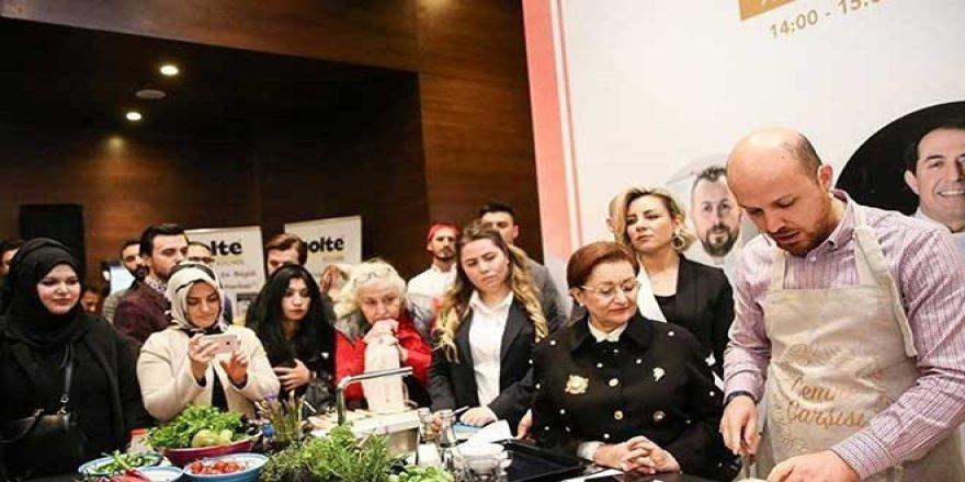 Bilal Erdoğan mutfağa girdi: Bu dünyayı kirletiyoruz