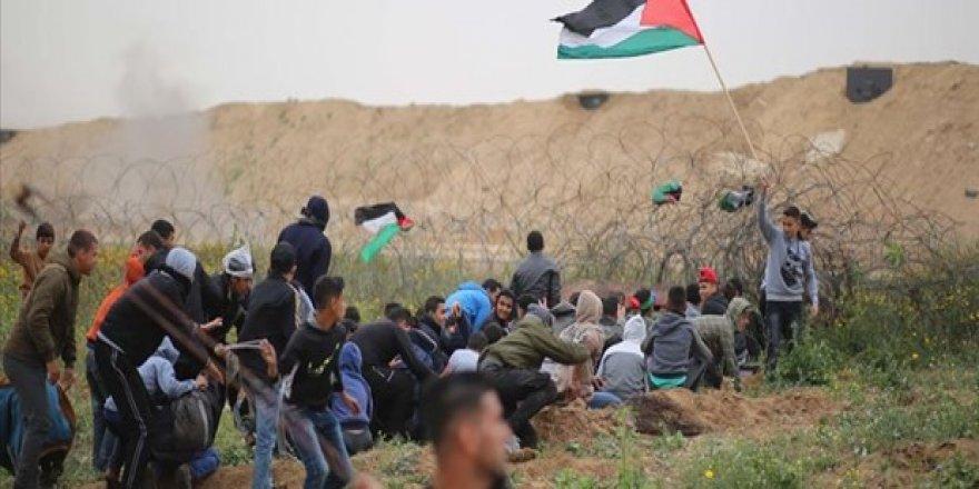 İsrail güvenlik güçleri protestoculara ateş açtı: 4 ölü, 316 yaralı