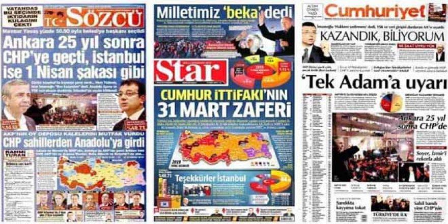 Tartışmalı seçimin ardından: Gazeteler sonuçları nasıl gördü?