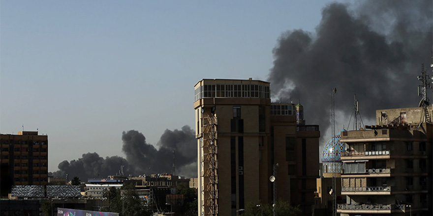 Bağdat'ta seçim sandıklarının bulunduğu depo yandı