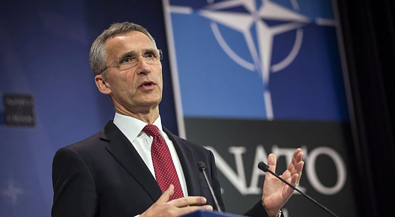 NATO GENEL SEKRETERİ JENS STOLTENBERG, JOSEF STALİN, ADOLF HİTLER VE IŞİD'İ AYNI SAFA KOYDU