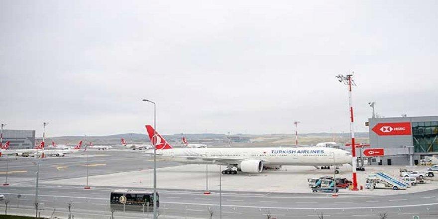 İstanbul Havalimanı'ndan ilk uçuş Ankara'ya gerçekleşti