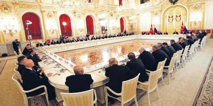 Erdoğan-Putin zirvesinden stratejik kararlar çıktı: 6 Milyarlık anlaşma