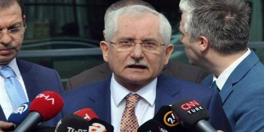 YSK Başkanı'ndan polis haftası kutlaması