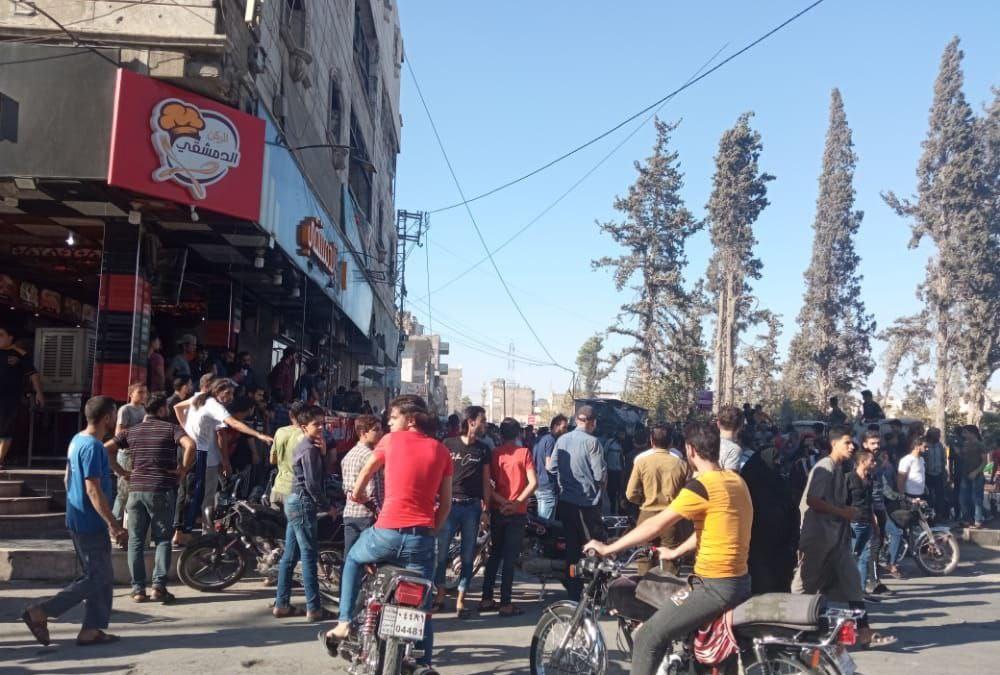 El Bab'ta Restoranın Önüne Yerleştirilen Bomba İmha Edildi