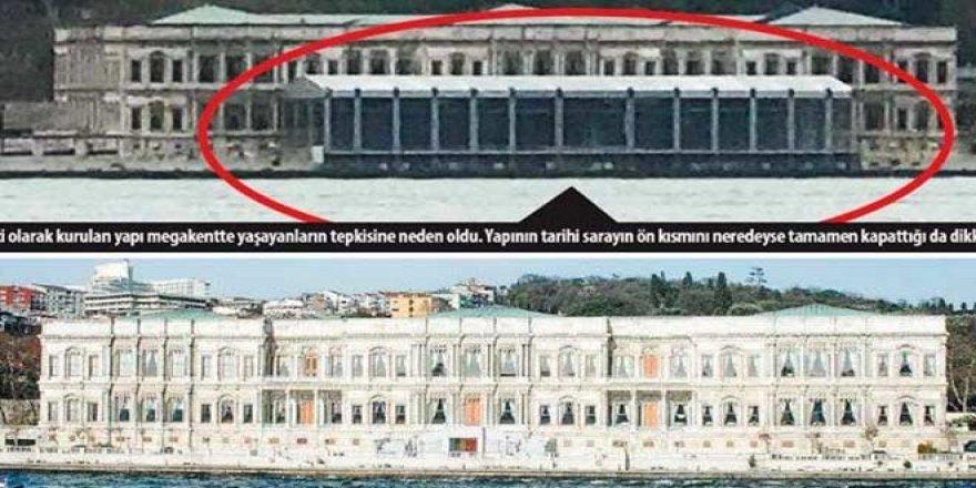 Tarihi sarayda akıl almaz görüntü: Saraykondu kimin için yapıldı?