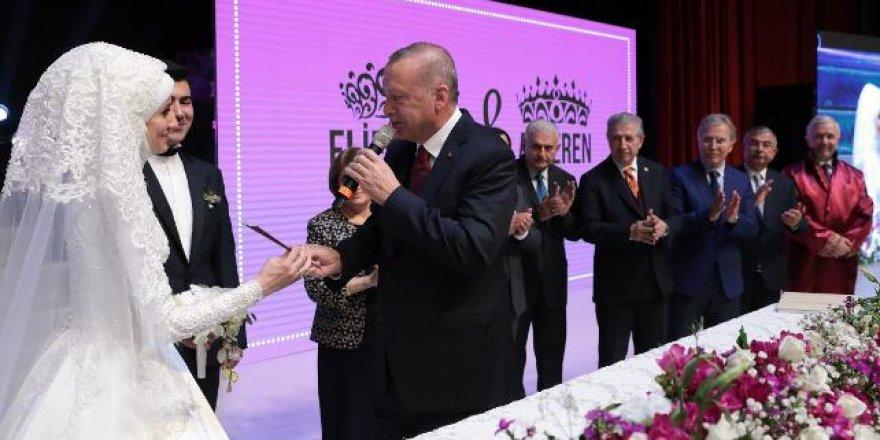 Bekir Bozdağ'ın oğlunun dikkat çeken nikah şahitleri
