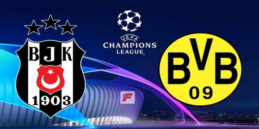 Beşiktaş-Dortmund maçında oynaması beklenen 11'li