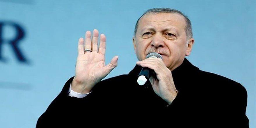 Erdoğan: Seçimden sonra herkes bir yere savruluyor, böyle dava adamı olunmaz