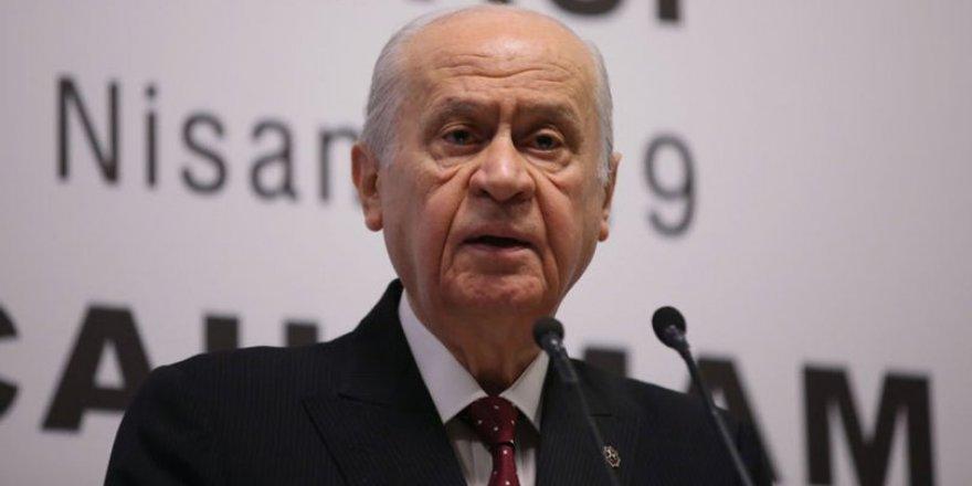 Bahçeli'den Cumhur İttifakı'nın oy oranı için ilginç hesap