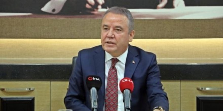 Başkan Böcek, Antalya Büyükşehir'in borcunu açıkladı