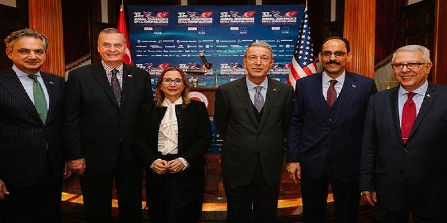 ABD ile stratejik ortaklık ve işbirliği hayati