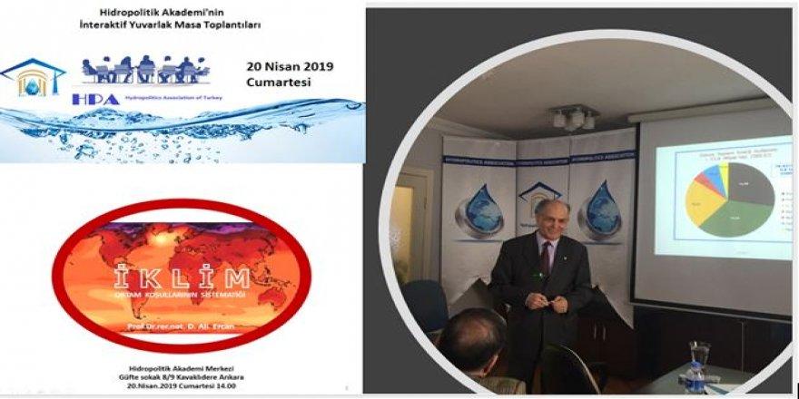 Prof. Ercan: Kritik  eşik aşılırsa iklim krizi sarmal çevrimlerle büyük çöküşü yaratabilir