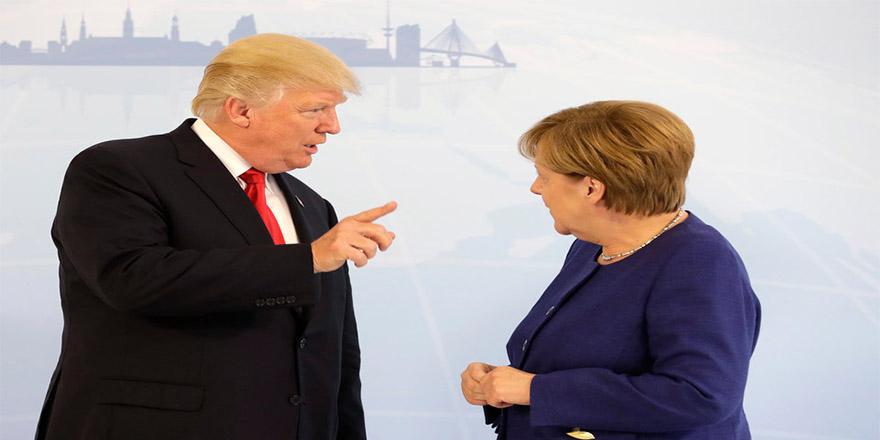 NATO zirvesi: Trump ve Merkel arasında söz düellosu